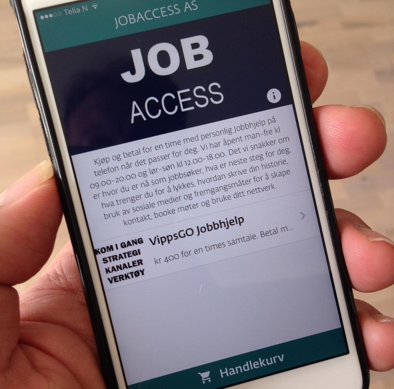 Jobbhjelp På Mobilen Med VippsGO