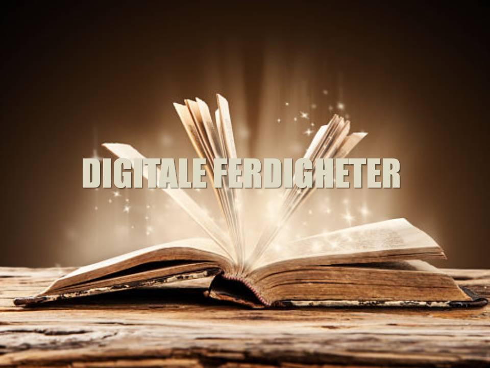 (Norsk) Har Du Digitale Ferdigheter?